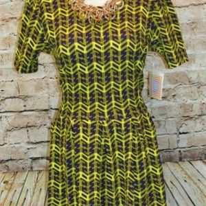 NEW 3X AMELIA LULAROE DRESS SOFT STRETCH 18 20 22